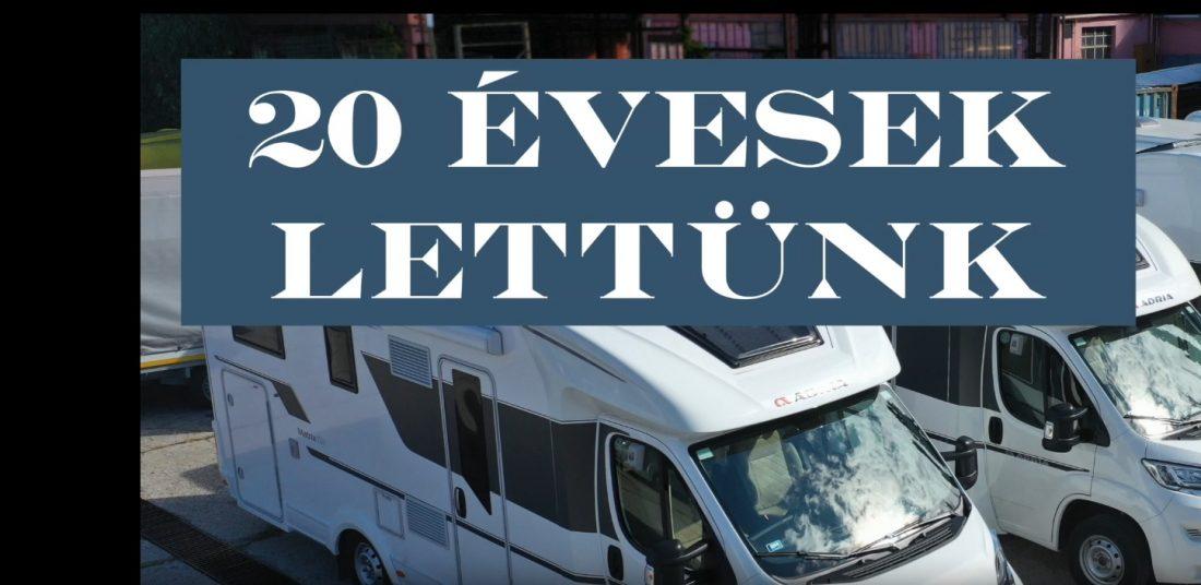 20 Éves a Suwenor Kft. | Lakóautó bérlés és vásárlás